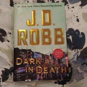 JD Robb Dark in Death hardcover